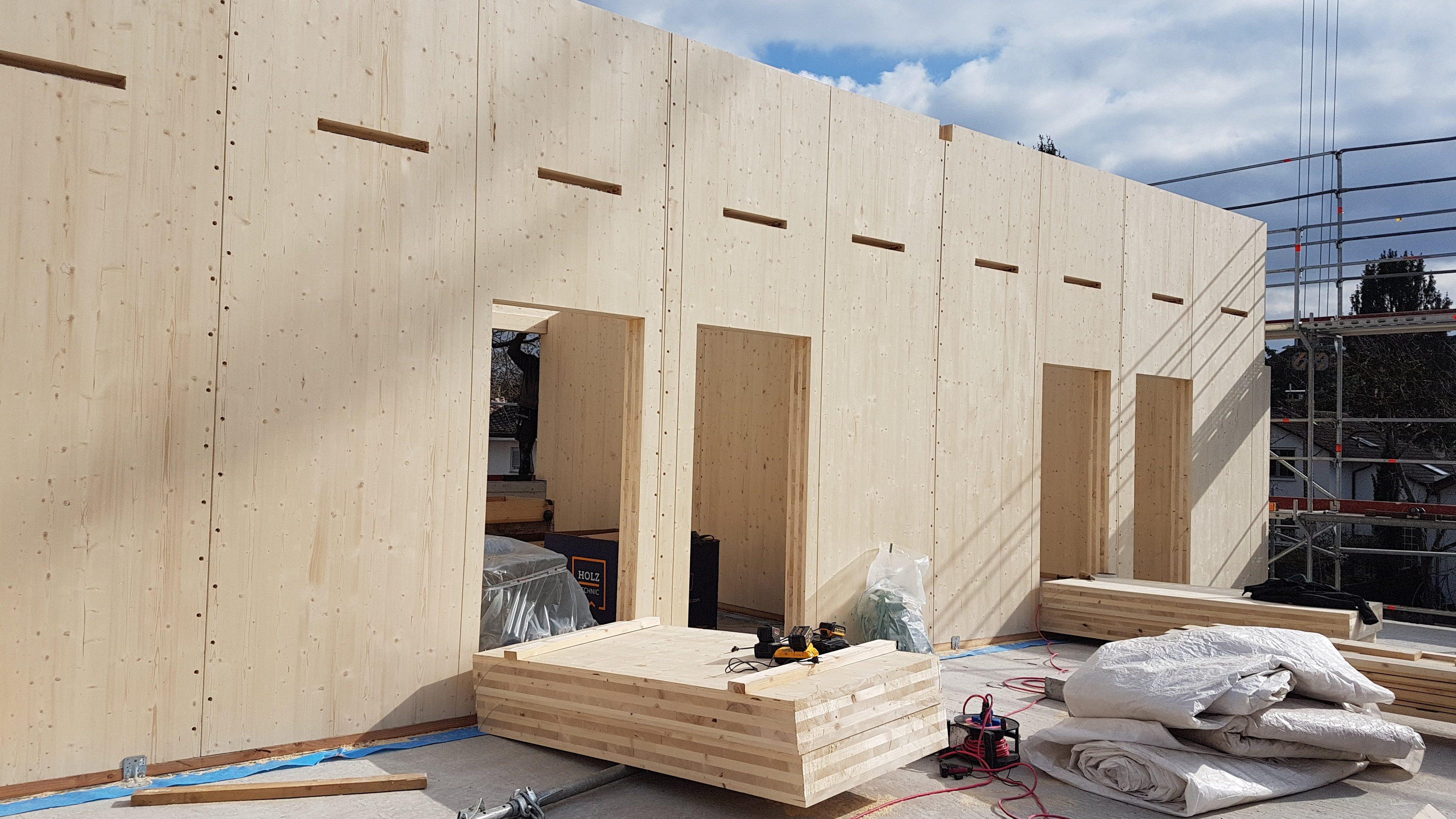 Neubau Massivholz